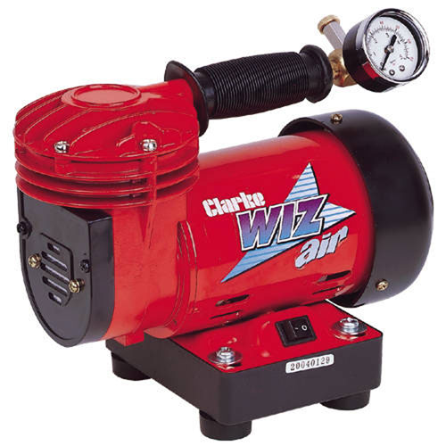 Clarke Wiz Mini Hobby/DIY Direct Drive Oil Free Air Compressor 230 Volt